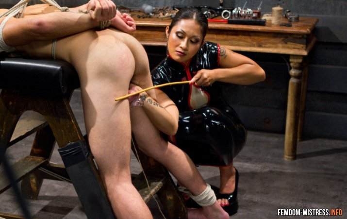 Something asian mistress white slave remarkable, very