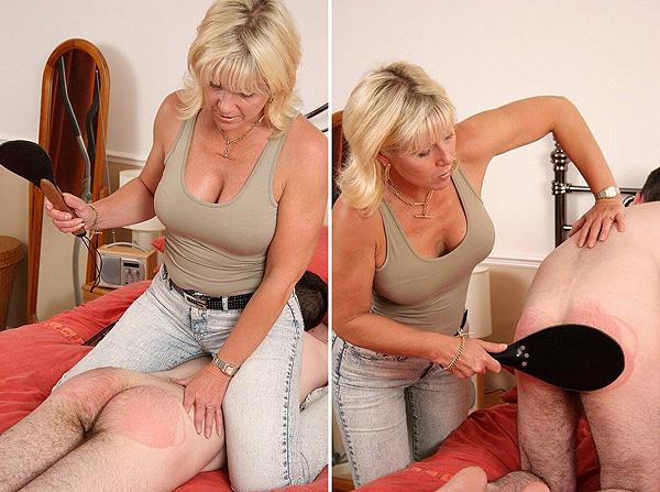 MILF Mistress Spanking
