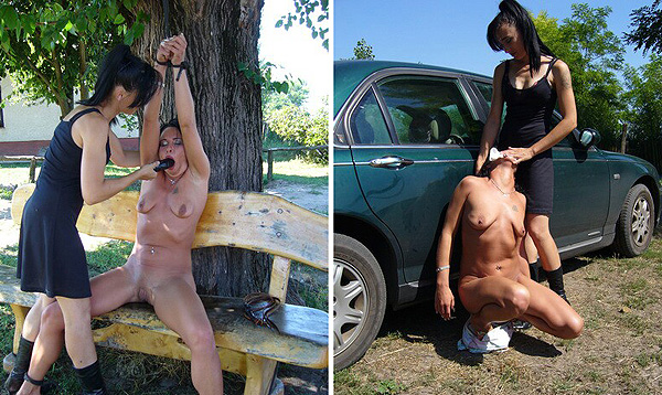 Lady Jenny Torturing Female Slave